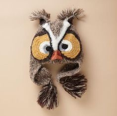 whimsical owl hat