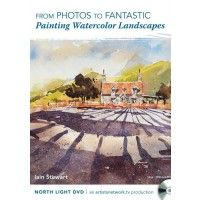 From Photos to Fantastic: Painting Watercolor Landscapes | NorthLightShop.com