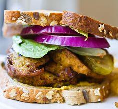 Smoky Maple Seitan Sandwich by Kathy Patalsky