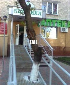Handicap Accessible Ramp Fail