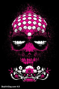 Skull a day.com