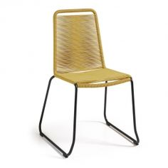 Sedie in tessuto e metallo dal design moderno Zelie,4 pezzi