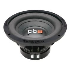 Powerbass S-104D 10-inch 550 Watt Max Subwoofer by PowerBass USA. $79.95. As a prime manufacturer, Powerbass takes great value to a whole new level with the introduction of its S-104D woofer. This 10-Inch driver utilizes an oversized motor structure for high power handling and greater reliability during heavy hitting bass passages. The premium grade 4-layer cone delicately balances the mix between wool and paper pulp resulting in very natural smooth bass reproduc...