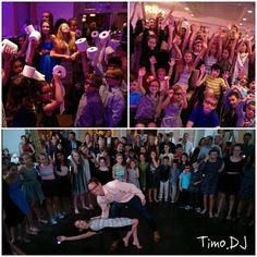 Yes! #Dad proves has the rhythm! #FATHERdaughterDANCE & Dip! #WeAreFamily #MazelTov #TimoDJphoto