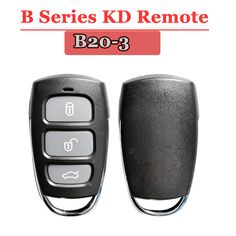 US$46.5 Feb only!  Free shipping (5pcs/lot)B20 3 Button Remote Key for URG200/KD900/KD200 with best quality ~~  #SecurityAlarm