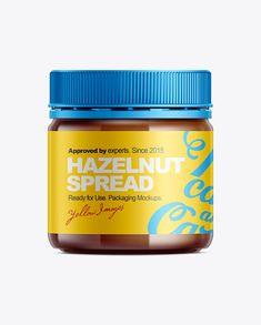 Hazelnut Spread Mockup. Preview