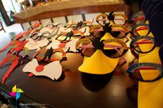 Looney tunes party favors - Customized Party Masks Looney Tunes Theme x 10 pcs by ParteeBoo