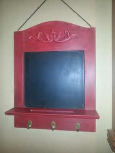 red chalk board, betsy ross red and black reVax
