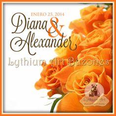 Logo de Bodas / Diana & Alexander | Lythium Art® Design by: Yil Siritt #LythiumArt #LythiumArtLogos #Invitacionesdeboda #invitaciones #tarjetasdeboda #invitación #weddinginvite #bodas #bodasenvenezuela #bodasvzla #weddingideas #tarjetería #weddinginvitations #LogosdeBoda #WeddingLogo