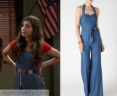 Girl Meets World: Season 2 Episode 14 Riley's Chambray Jumpsuit