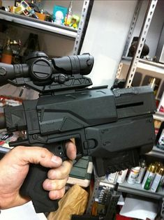 Johnson Arms Custom Nerf Guns by toybot studios, via Flickr