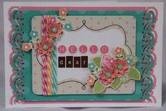 """Hello Dear"" card by Carol Theng"