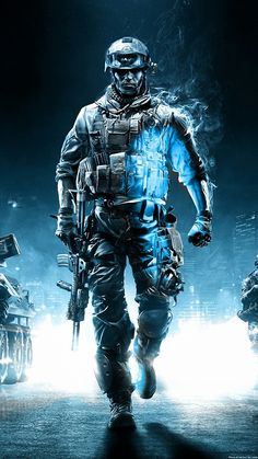 Call Of Duty Ghosts Soldier iPhone 6 Plus HD Wallpaper - 4k Wallpaper For Mobile, Iphone 5 Wallpaper, Original Iphone Wallpaper, Wallpaper Art, Desktop Backgrounds, Black Backgrounds, Arte Assassins Creed, Indian Army Special Forces