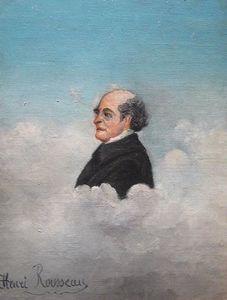 Portrait du pere del`artiste - (Henri Rousseau)