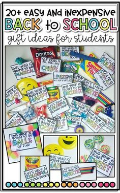 20  {Beginning of the Year} Gifts for Students