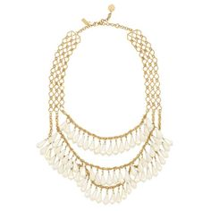 Shimmer Triple Chain necklace Kate Spade $78 (sale)