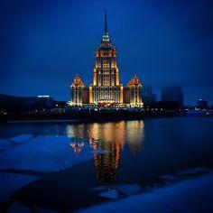 Radisson hotel, Moscow.