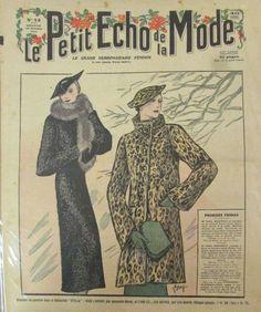 LE PETIT ECHO DE LA MODE N° 43 de 1934