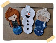 Hey, I found this really awesome Etsy listing at https://www.etsy.com/listing/211549395/frozen-ornaments-set-of-3-anna-elsa-and
