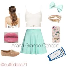 Outfit idea; going to an Ariana Grande concert