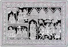 An online art gallery offering the best range of indian art online. Choose to buy from paintings, prints, artworks and more by renowned artists. Madhubani Art, Madhubani Painting, Music Painting, Painting & Drawing, Phad Painting, Indian Traditional Paintings, Kerala Mural Painting, Kalamkari Painting, Trippy Drawings
