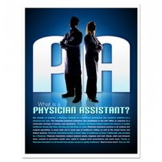"""""""What is a Physician Assistant?"""" Educational Poster from http://shop.advanceweb.com."""