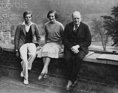 Winston, Randolph, and Diana Churchill. I used to be really into the figure of diana.