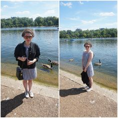 Hyde Park with and without jacket