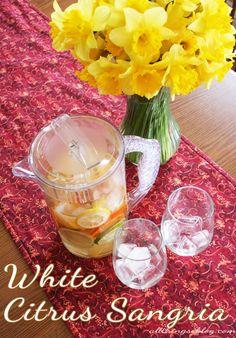 White Citrus Sangria Recipe
