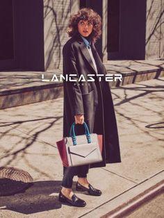 Steffy Argelich stars in the latest Lancaster Paris campaign