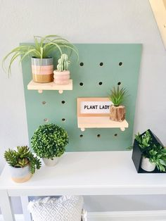 Pegboard Display With Shelves Shelf Display Pegboard Shelfie Kids Decor Nursery Decor Kids Display Kids Shelves Floating Shelves Pegboard Display, Display Shelves, Gold Shelves, Pegboard Organization, Organization Ideas, Plant Shelves, Shelfie, Wooden Letters, Kids Decor