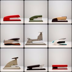 Staplers, the Attachment That's Still Making Noise - The New York Times Painting Frames, Painting Prints, Shelf Paper, Web Design, Tape Dispenser, Artistic Photography, Industrial Design, Be Still, Staplers