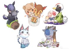 Animal Crossing Fan Art, Animal Crossing Memes, Animal Crossing Characters, Animal Crossing Villagers, Pokemon, Pikachu, Game Themes, Funny Art, Cute Art