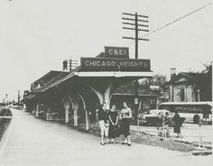 Chicago Heights Train Station
