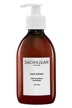 Packaged in a convenient pump bottle, this sulfate- and paraben-free formula leaves hair with long-lasting shine. $30 at sephora