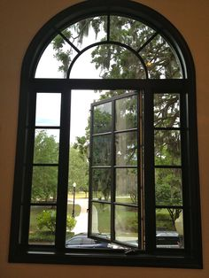 In love with these windows Aluminium French Doors, Iron Window Grill, Iron Windows, Home, Ad Home, Homes, Haus, Houses