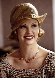 Charlize Theron as 'Adele Invergordon' - 2000 - The Legend of Bagger Vance - Director: Robert Redford - Style: Georgia, 1931 - @~ Mlle