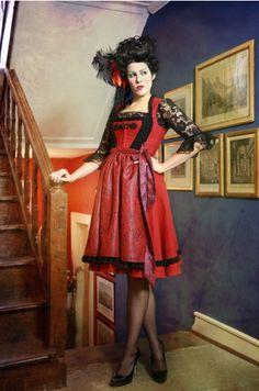 """Dirndl """"Carmen"""", available at my Online Shop for EUR 689: http://sonjafellner.com/shop/all/carmen/"""