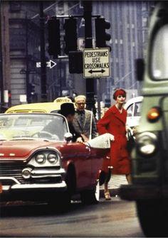 William Klein, Anne St. Marie, New York (Vogue) 1963