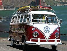 VW Bus #combi #campingcar #surftrip