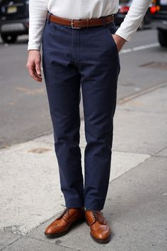 Driggs Washed Duck Canvas Navy