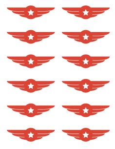 Make these different colors for Hunter's party. Free Airplane Birthday Party Printables
