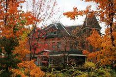 Boise Idaho, autumn( West Warm Springs Historic District)