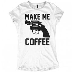 Make me Coffee! Breakfast with Allinclusive Apparel Ladies T-shirt