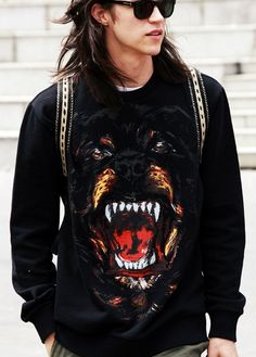 Givenchy rottweiler sweater <3
