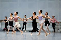 In rehearsals with Merrill Ashley and dancers of The Royal Ballet © ROH 2011 by Royal Opera House Covent Garden, via Flickr