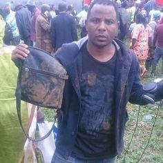 #Breakin - Déraillement à #Eseka  ce jour...l'artiste #Koppo sort indemne #Cameroun #Douala #Yaoundé