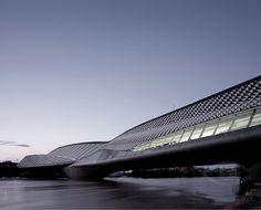 Zaragoza Bridge Pavilion, northern Spain by  Zaha Hadid