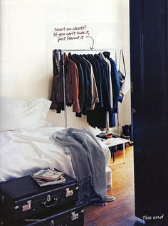 Domino - March 2009 by Girl of 100 Lists, via Flickr _ #closet