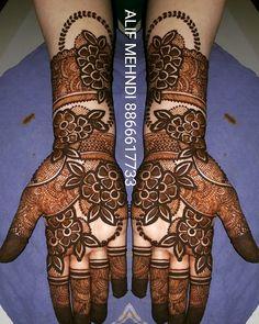 Khafif Mehndi Design, Rose Mehndi Designs, Henna Art Designs, Stylish Mehndi Designs, Mehndi Design Pictures, Mehndi Designs For Girls, Wedding Mehndi Designs, Beautiful Mehndi Design, Mehndi Style